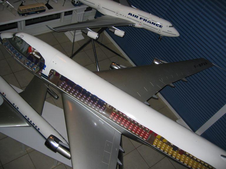 B 747 AF 035