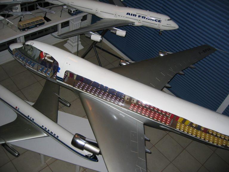B 747 AF 036