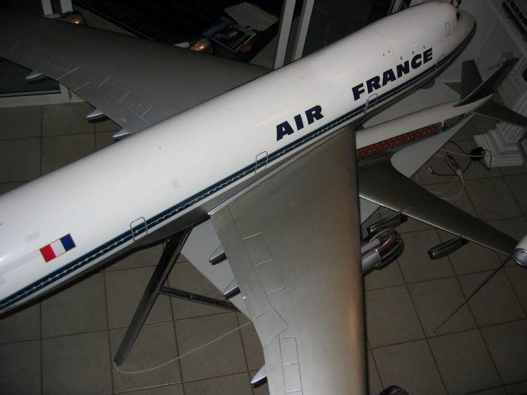 B 747 AF 055