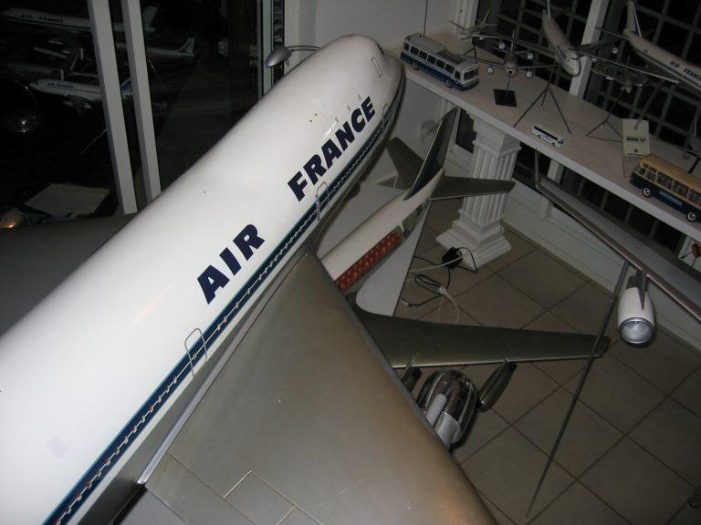 B 747 AF 058