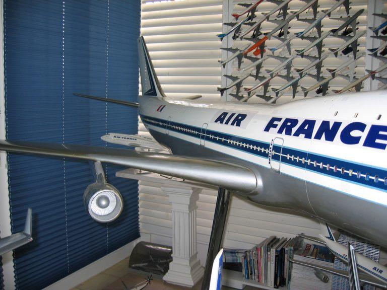 Boeing 747-100 AIR FRANCE au 1/25eme Cutaway