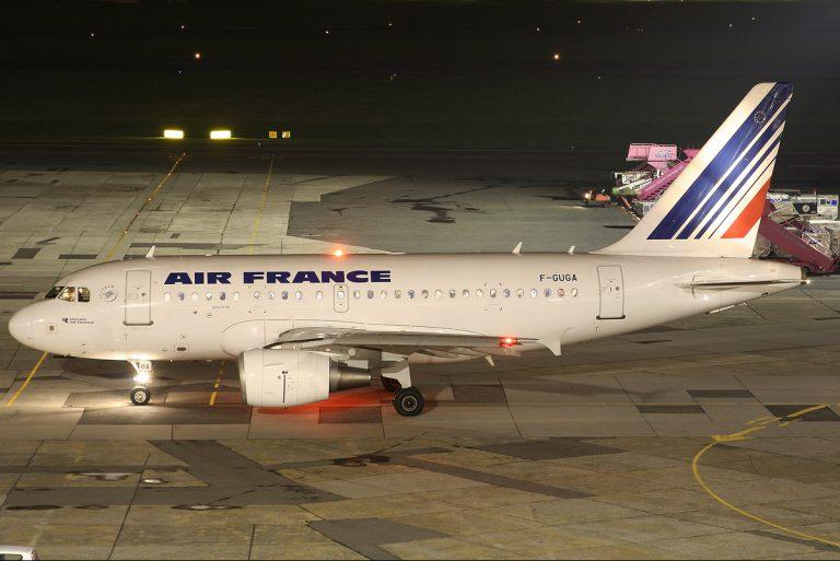 Airbus A320 AIR FRANCE - Cutaway