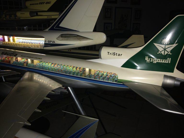TriStar Saudia 1/30ème Cutaway