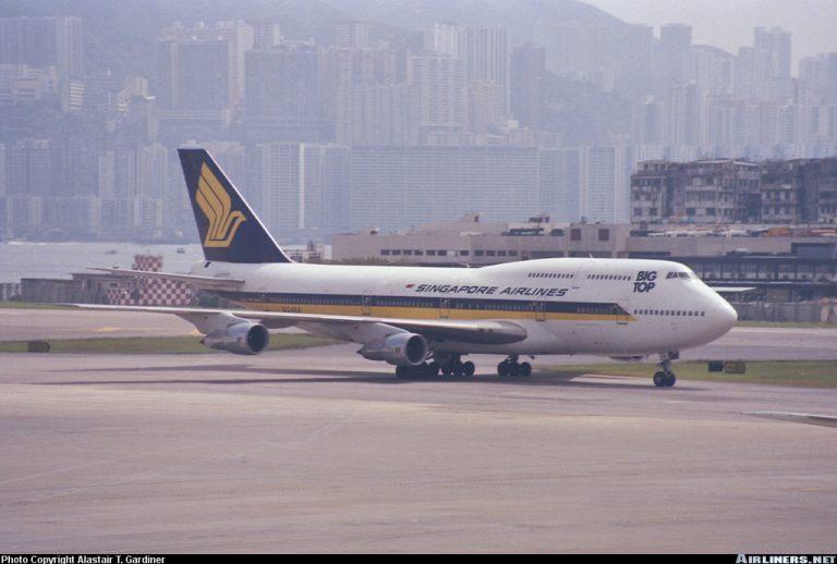 B747 300 SIA 2