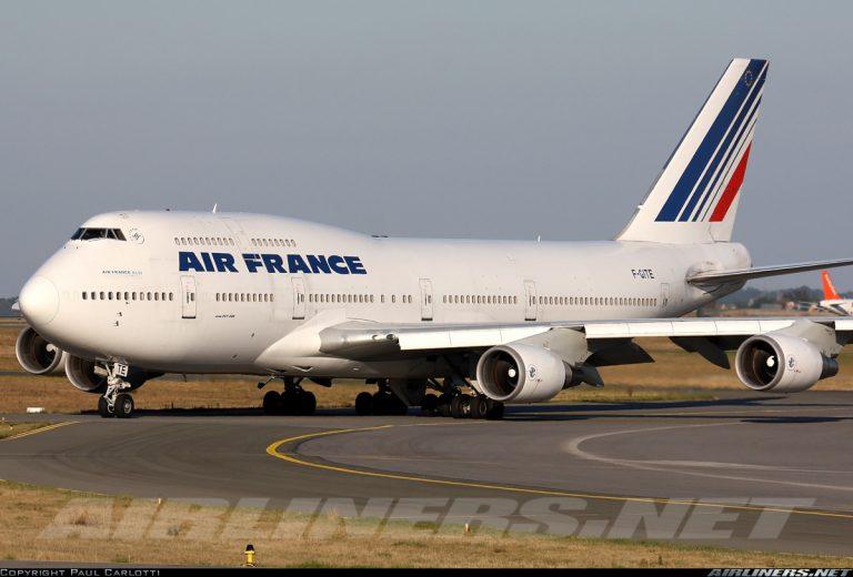 B747 400 AF 1