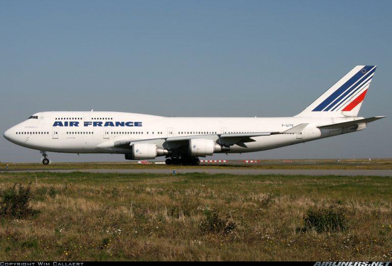 B747 400 AF 4
