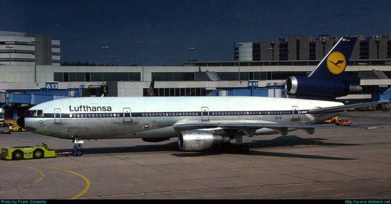 DC10 Lufthansa