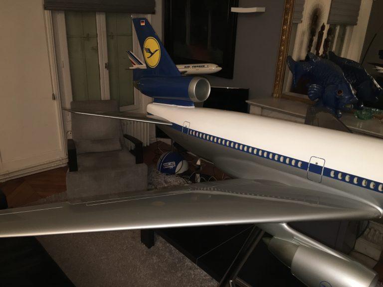 McDonnell Douglas DC-10 LUFTHANSA 1/25th Scale Cutaway Model