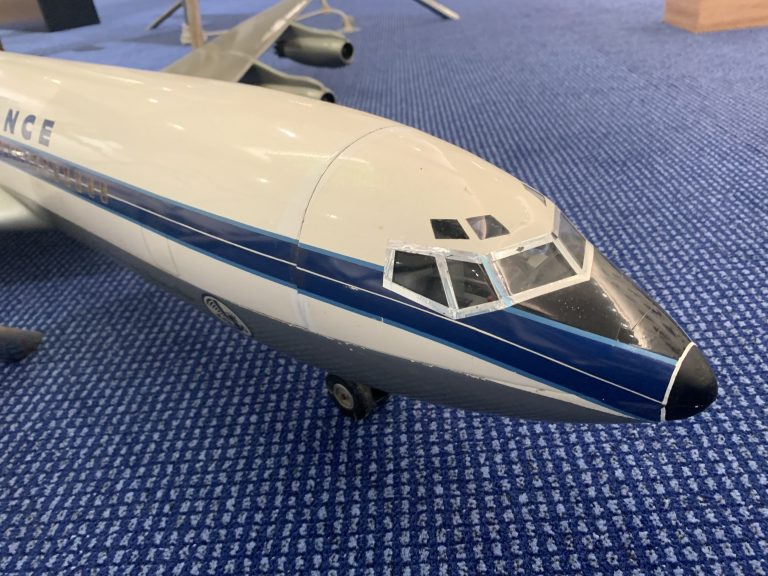 Boeing 707 Cutaway Model